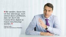 Patrick Fruth, CEO TÜV SÜD Division Mobility