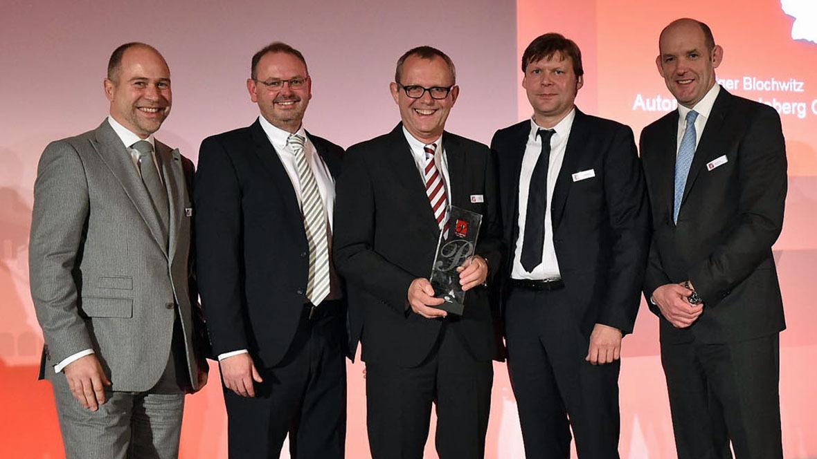Kia Platinum Prestige Dealer Award 2014