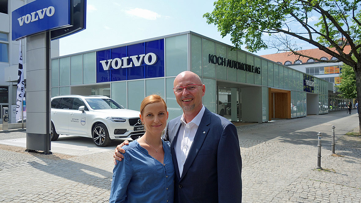 volvo autocenter in berlin tiergarten. Black Bedroom Furniture Sets. Home Design Ideas