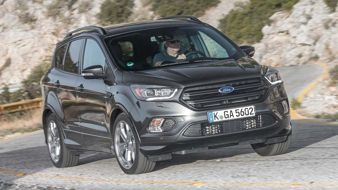 Ford Kuga Facelift 2017