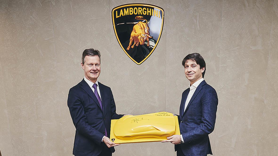 Lamborghini Düsseldorf Eröffnung