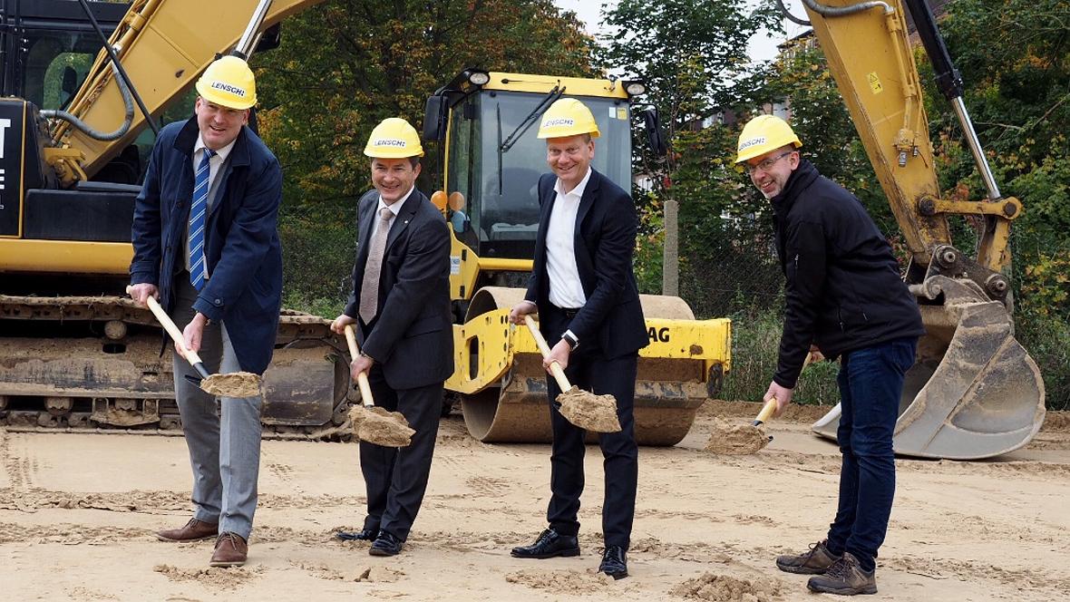 Spatenstich: Lensch & Bleck baut neues Opel-Autohaus ...