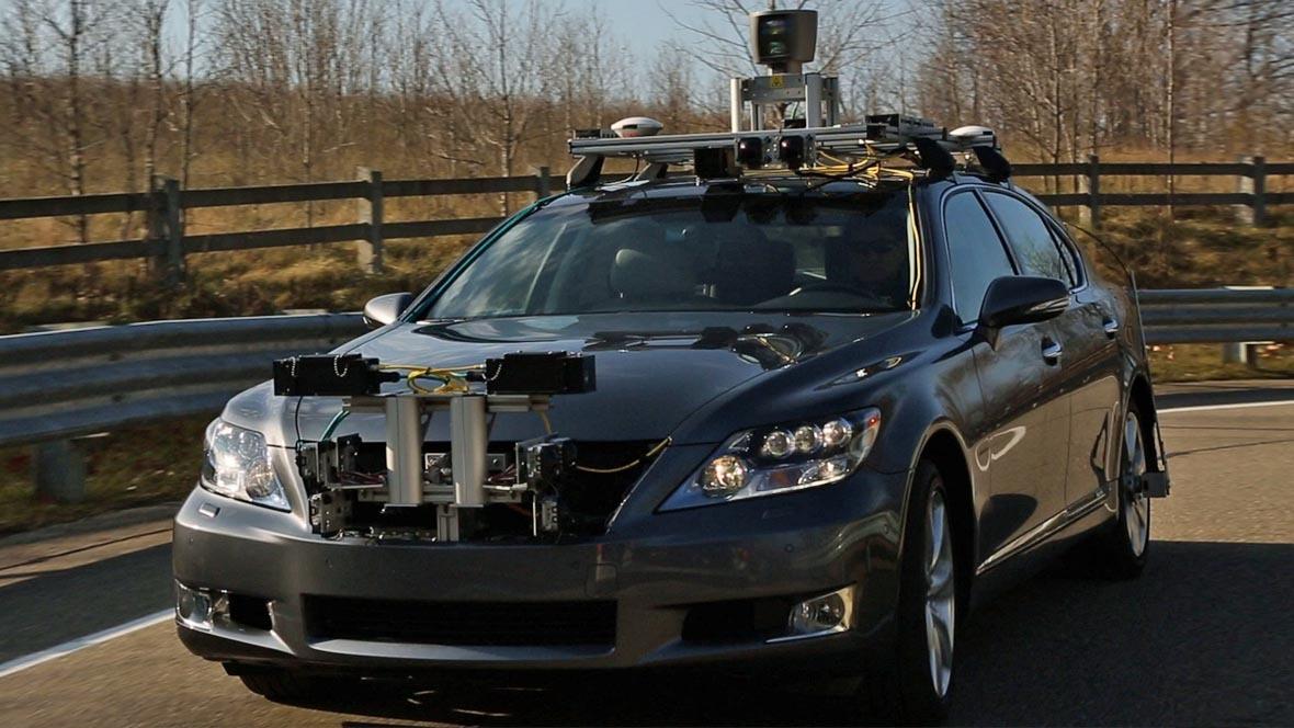 Lexus-Forschungsfahrzeug