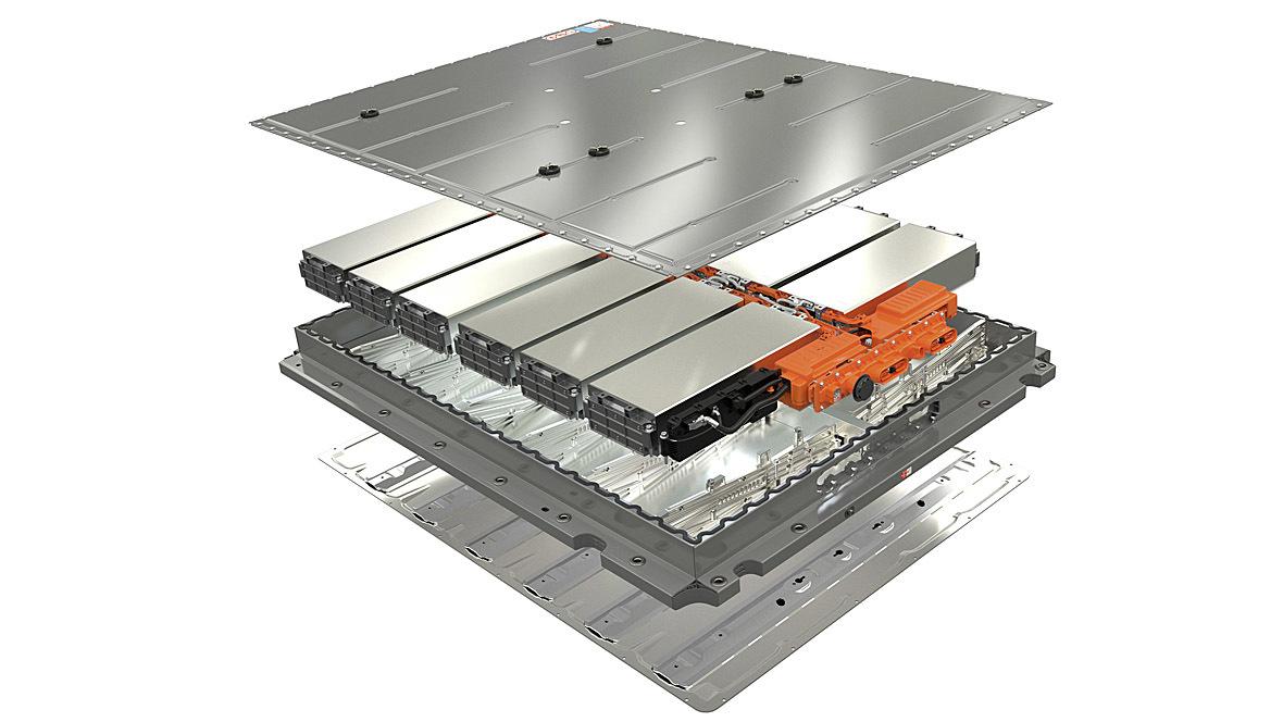 Lithium-Ionen-Batterie Aufbau
