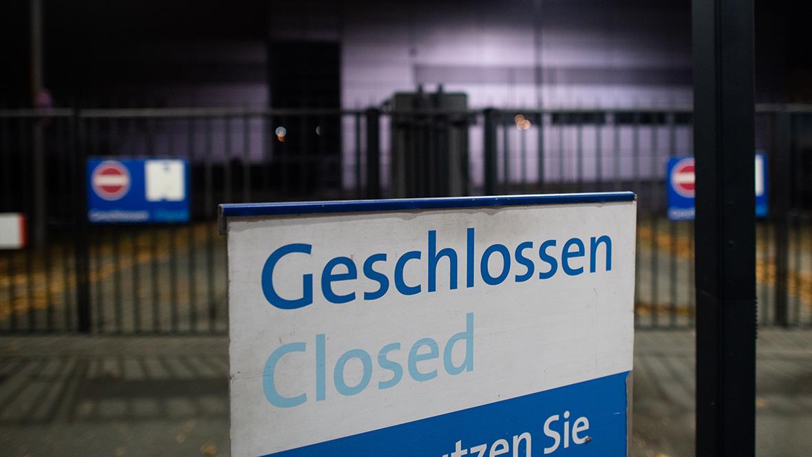 Lockdown; geschlossen; Corona-Krise; Schließung; Messe Hannover
