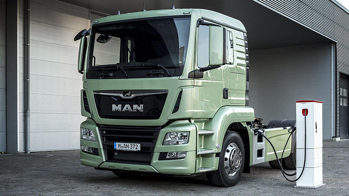 MAN Elektro-Lkw