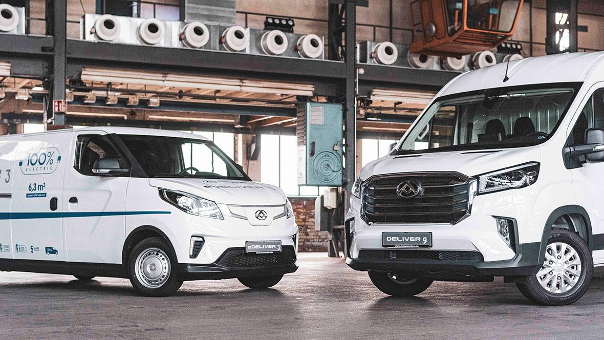 Maxus; Maxomotive; eDeliver 3; Deliver 9; Elektro-Transporter; China