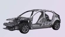 Mazda3 Fahrzeugarchitektur