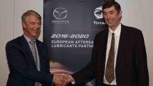 Partnerschaft Mazda und Total