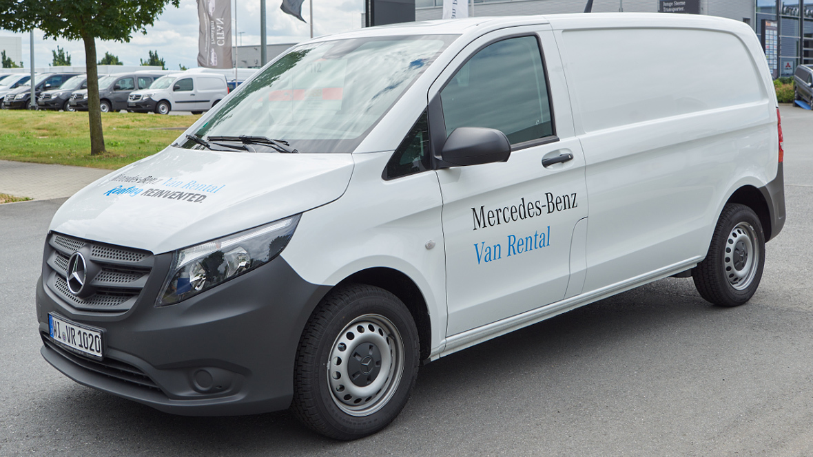 Neue mietmarke f r transporter for Where can i rent a mercedes benz
