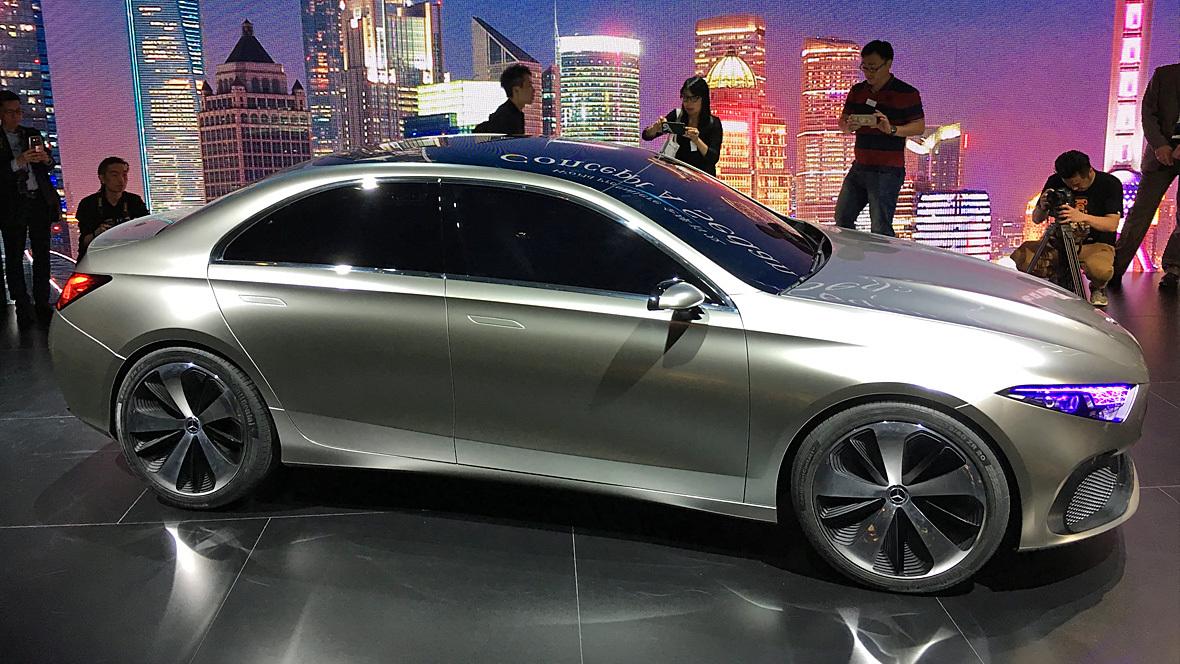 Mercedes benz a sedan concept for How do you spell mercedes benz