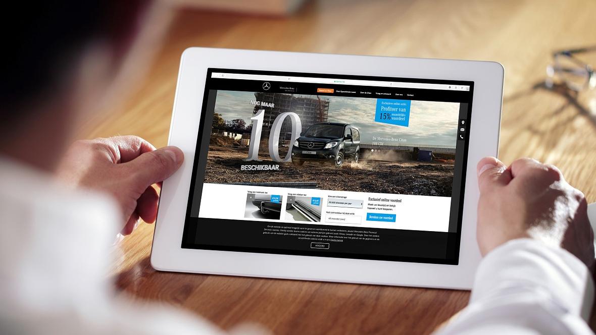 mercedes vans testet internetvertrieb. Black Bedroom Furniture Sets. Home Design Ideas