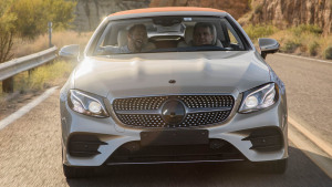 Abnahmefahrt Mercedes E-Klasse Cabrio