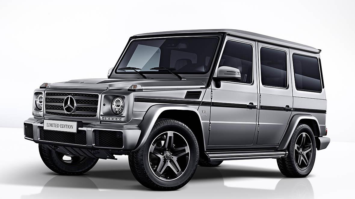 2018 G Wagon >> Mercedes G-Klasse Limited Edition - autohaus.de