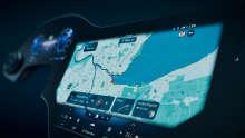 Mercedes-Benz MBUX Hyperscreen; Interieur; Bedienkonzept; Bildschirm