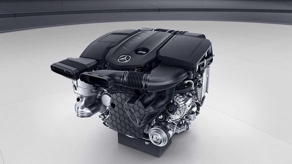 Motor Mercedes OM 654