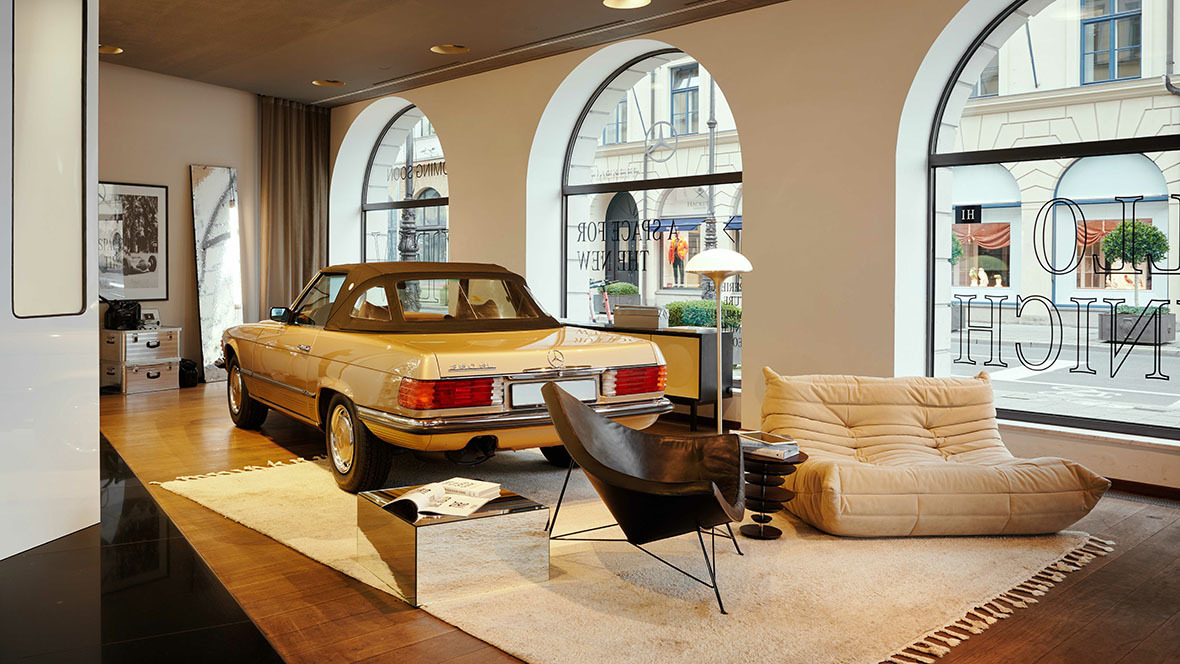 Mercedes-Benz; Studio Odeonsplatz; Showroom; Citystore