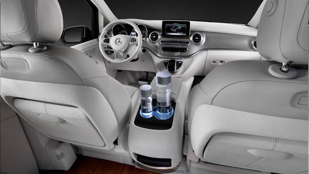 mercedes benz v klasse concept car. Black Bedroom Furniture Sets. Home Design Ideas