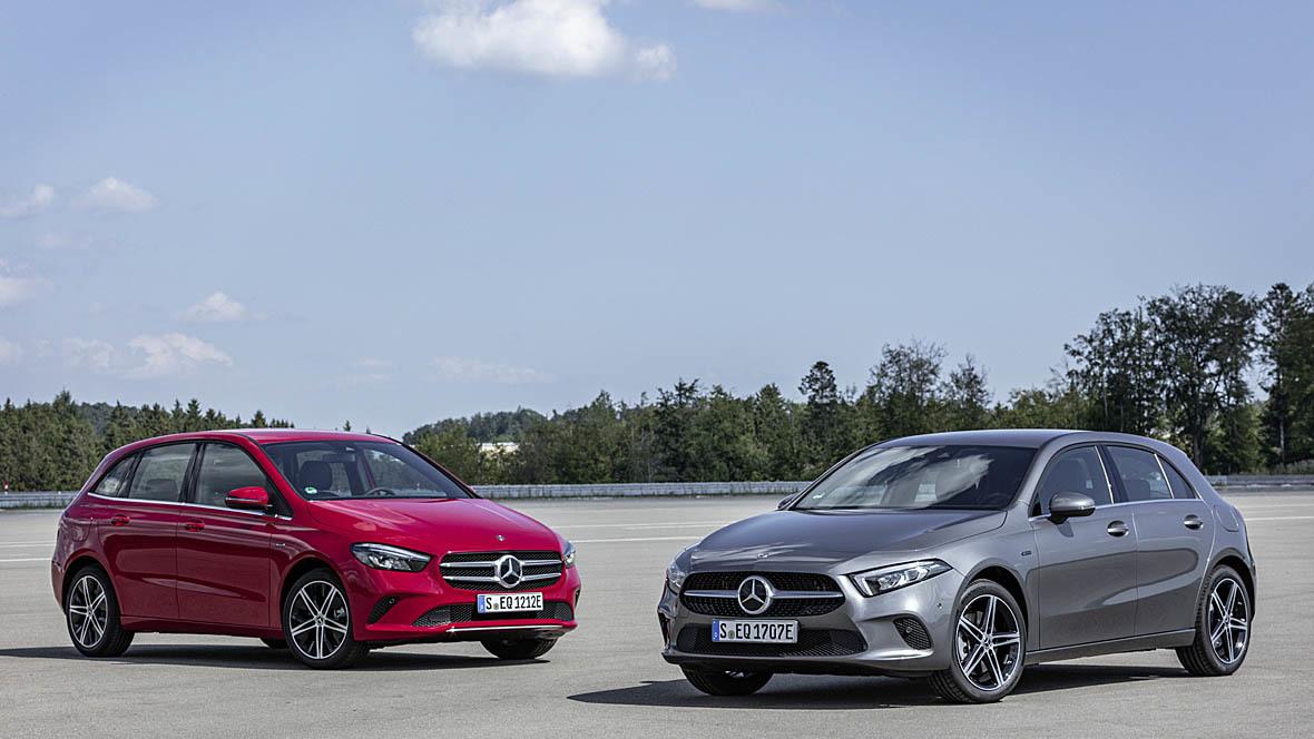 Mercedes-Benz A 250 e und B 250 e