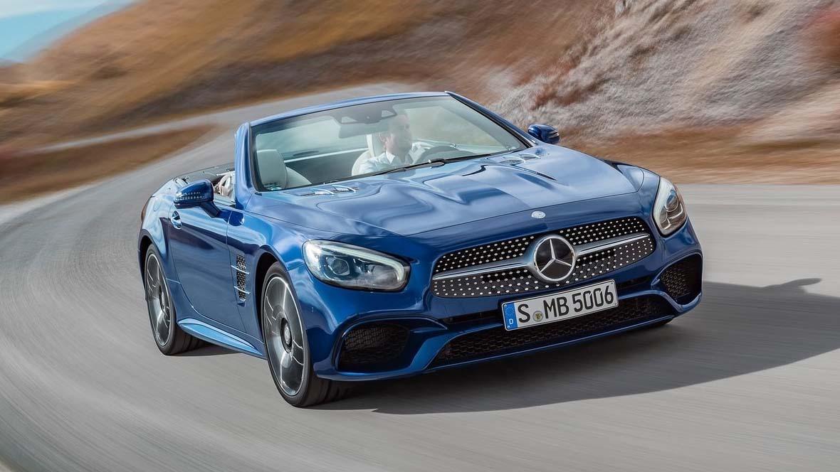 Mercedes benz sl 2017 for Portent g3 sl 8