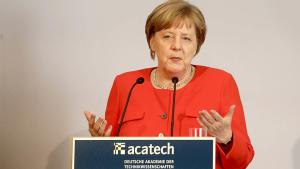 Angela Merkel acatech