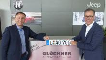 Nikolaus und Adrian Glöckner