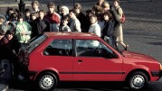 Fünf Generationen Nissan Micra