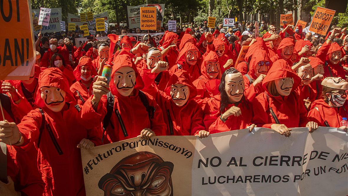 Nissan Demonstration Barcelona