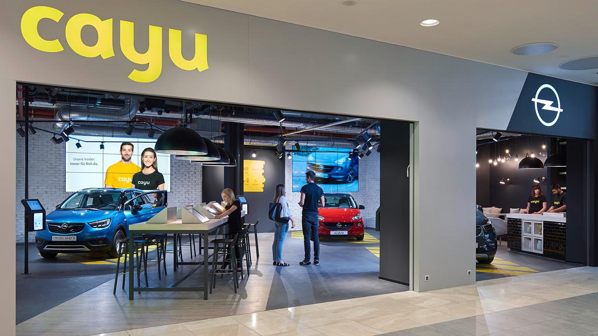 das ist der erste opel cayu-store - autohaus.de