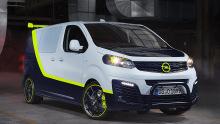 Opel-Konzeptfahrzeug O-Team Zafira Life