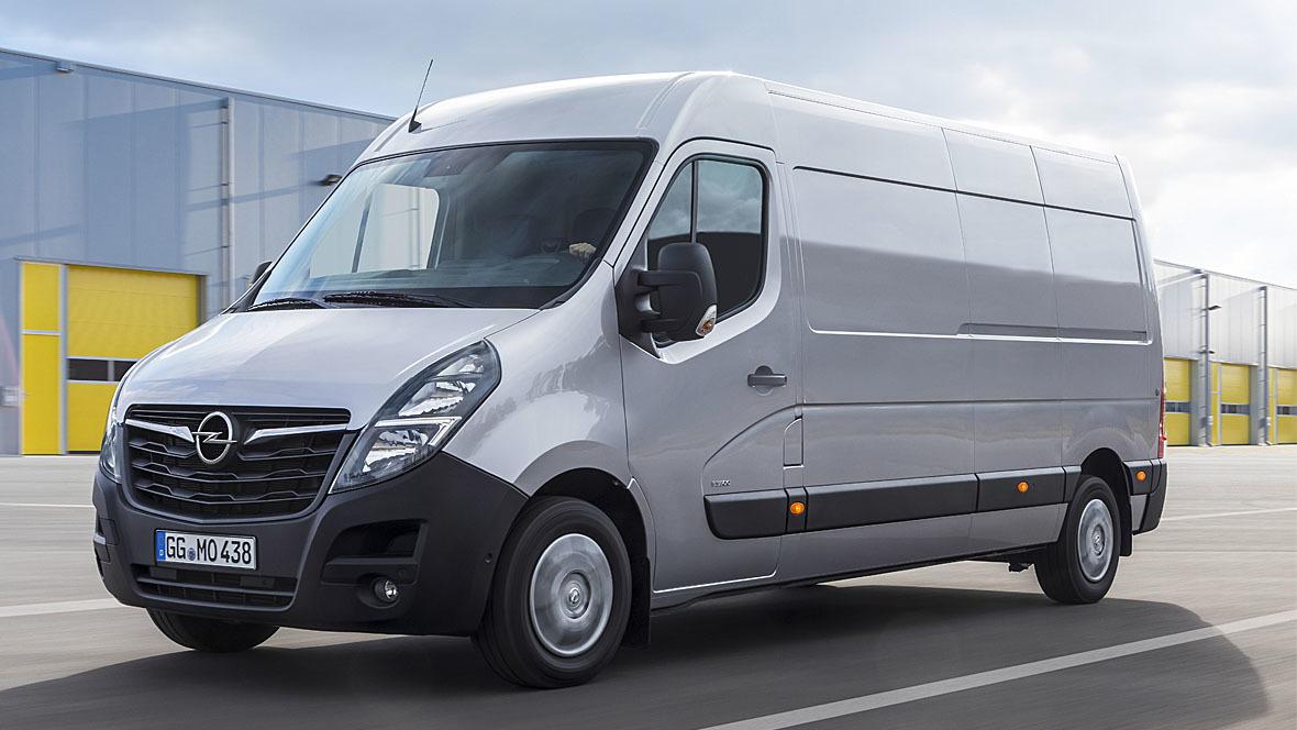Opel Movano Facelift (2020)