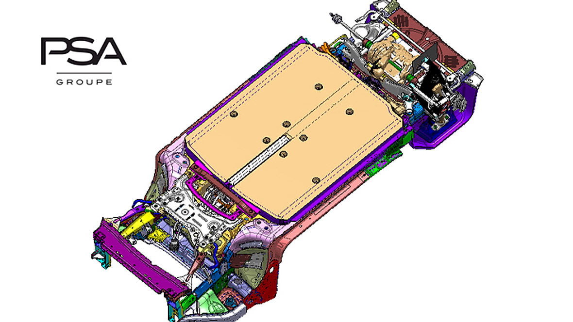 PSA E-Auto-Plattform