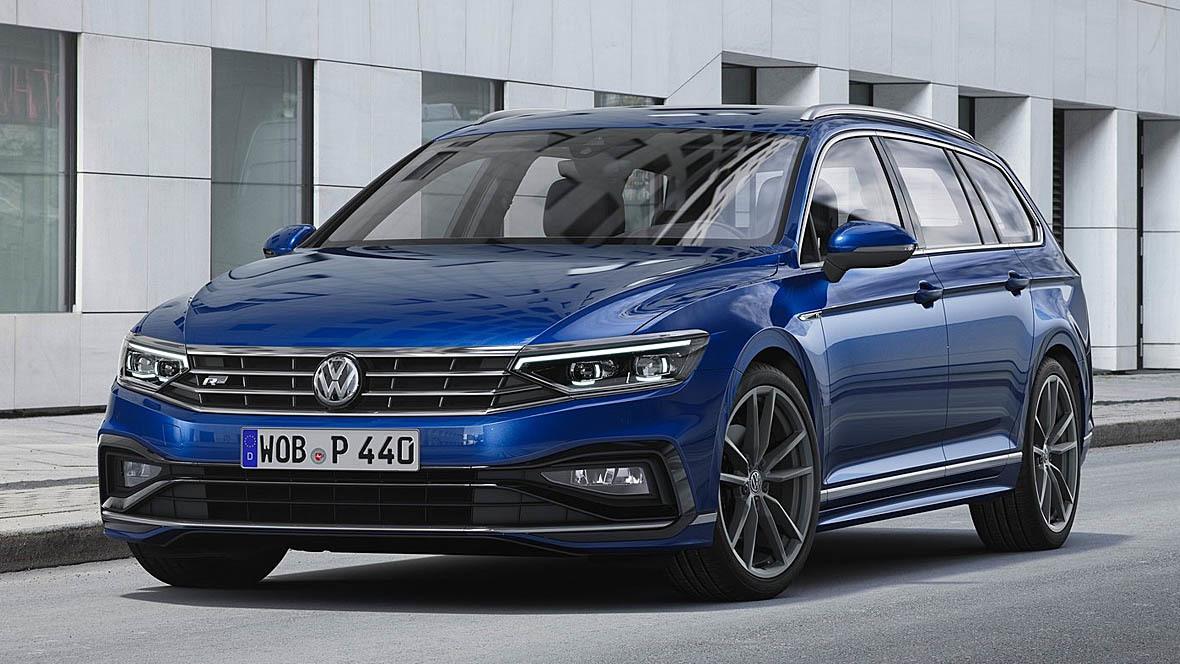 VW Passat Facelift (2020)