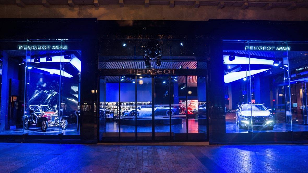 "peugeot avenue paris"" wiedereröffnet - autohaus.de"