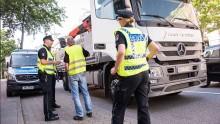 Polizeikontrolle Hamburg lkw