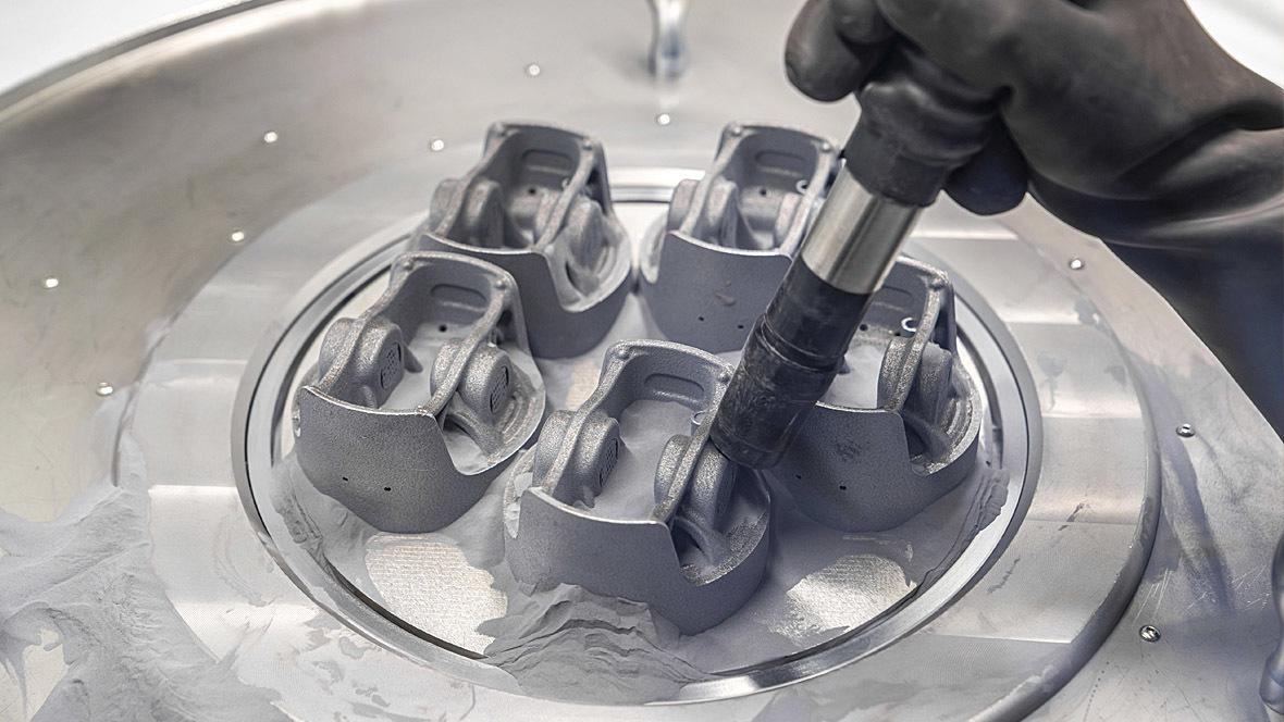 Porsche Mahle Kolben 3D-Drucker