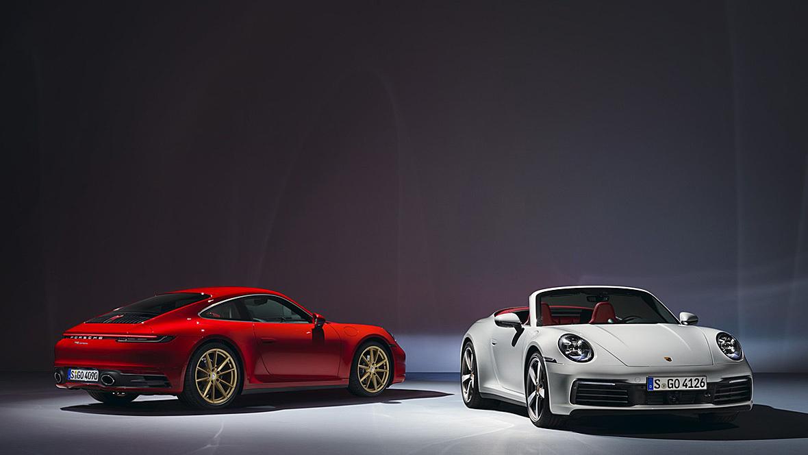 Porsche 911 Coupé und Cabrio