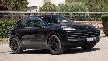 Abnahmefahrt Porsche Cayenne (2018)