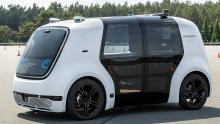 VW Prototyp Autonomes Fahren