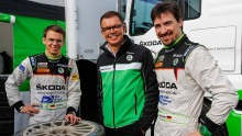 Stefan Quari und Fahrer