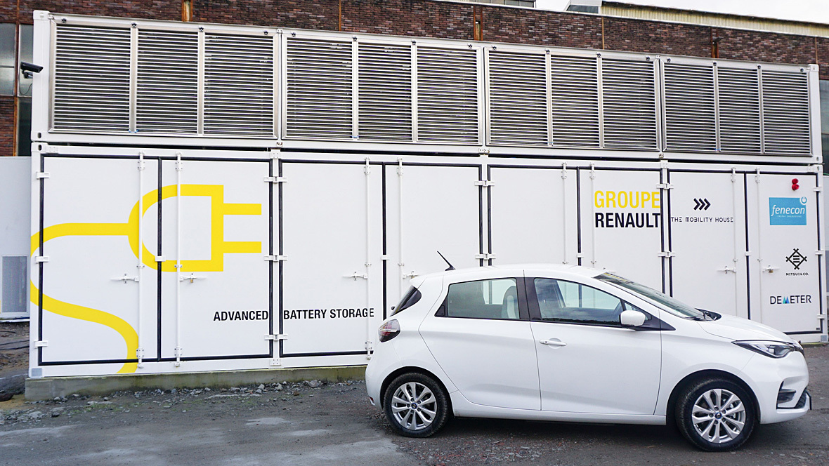 Energiespeicher Elverlingsen Renault