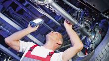 Werkstatt Reparatur Antriebswelle