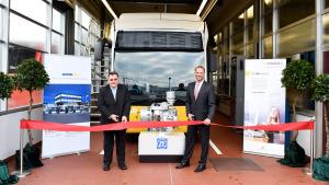 Karl Russ eröffnet Wasserstoff-Werkstatt