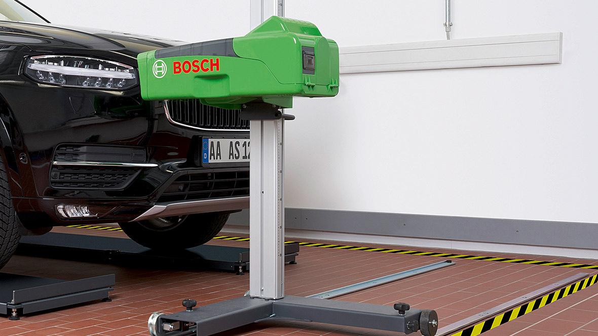 Bosch Scheinwerfereinstellplatz