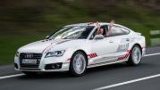 Selbstfahrender Audi A7 Sportback