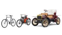 Slavia-Fahrrad Slavia-Motorrad Voiturette A
