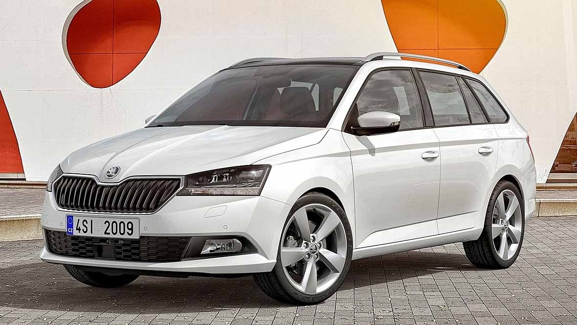 skoda fabia facelift 2019. Black Bedroom Furniture Sets. Home Design Ideas