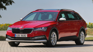 Skoda Superb Scout (2020)