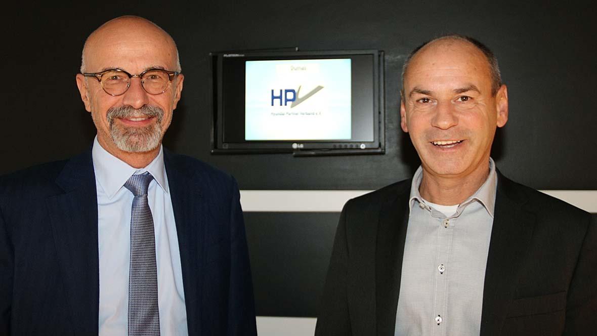 Hyundai Karim Soliman und Frank Famulla