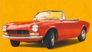 50 Jahre Fiat 124 Spider